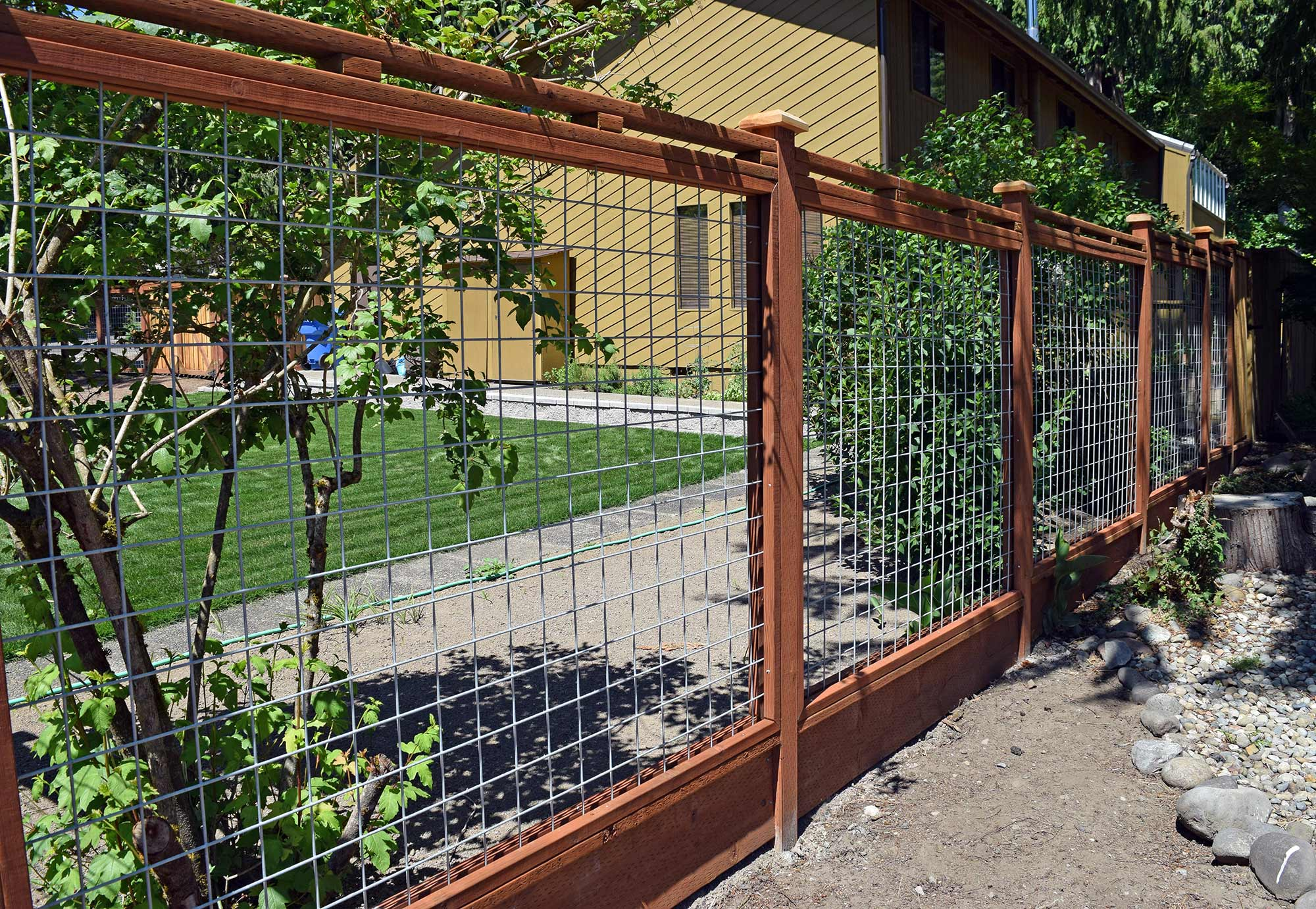 Deer Fence And Landscaping Ajb Landscaping Amp Fence
