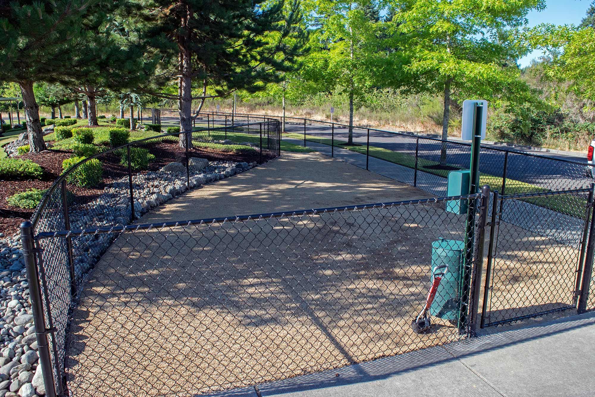 click to enlarge image dog park gated entry dog park gated entry