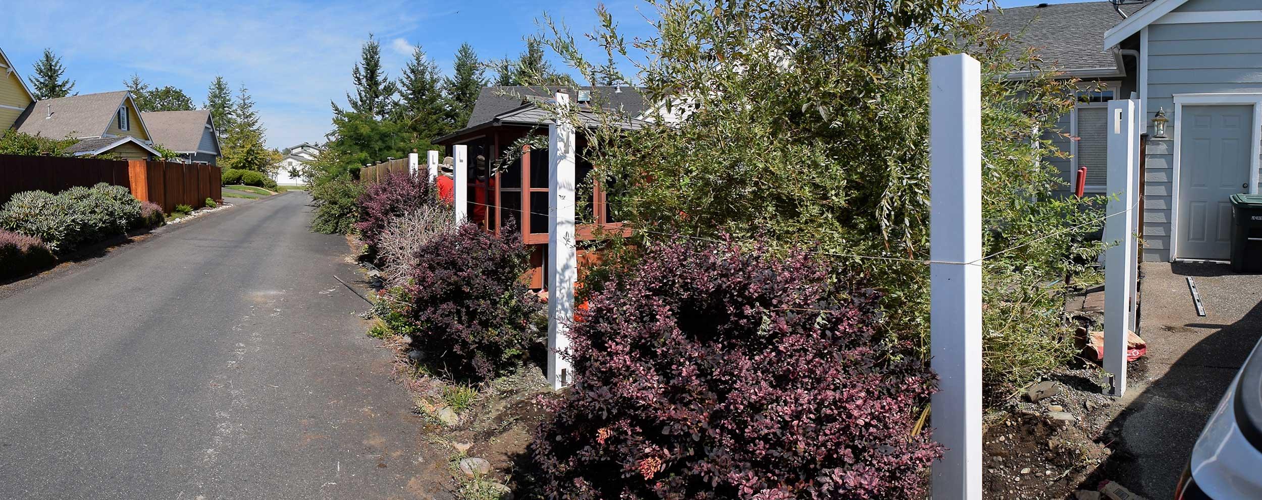 Vinyl fence installation dupont ajb landscaping fence click to enlarge image 01 vinylfenceg vinyl fence posts vinyl fence posts baanklon Image collections
