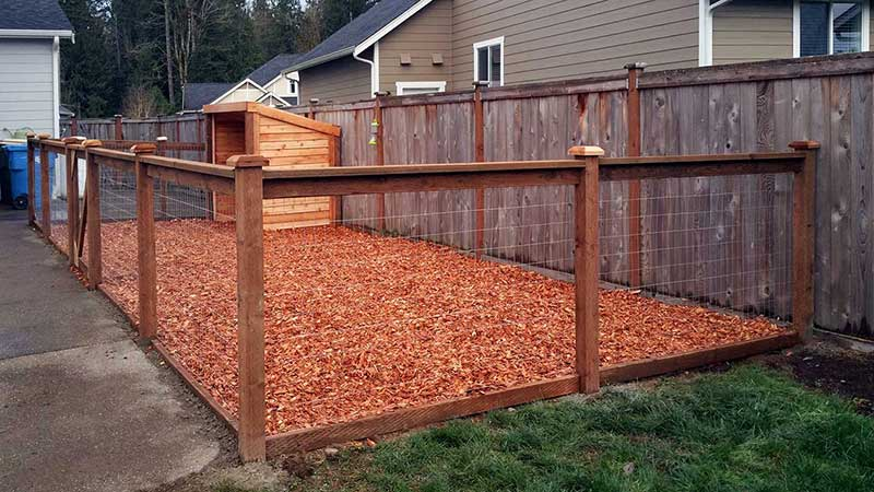 Dog Kennel Ajb Landscaping Amp Fence