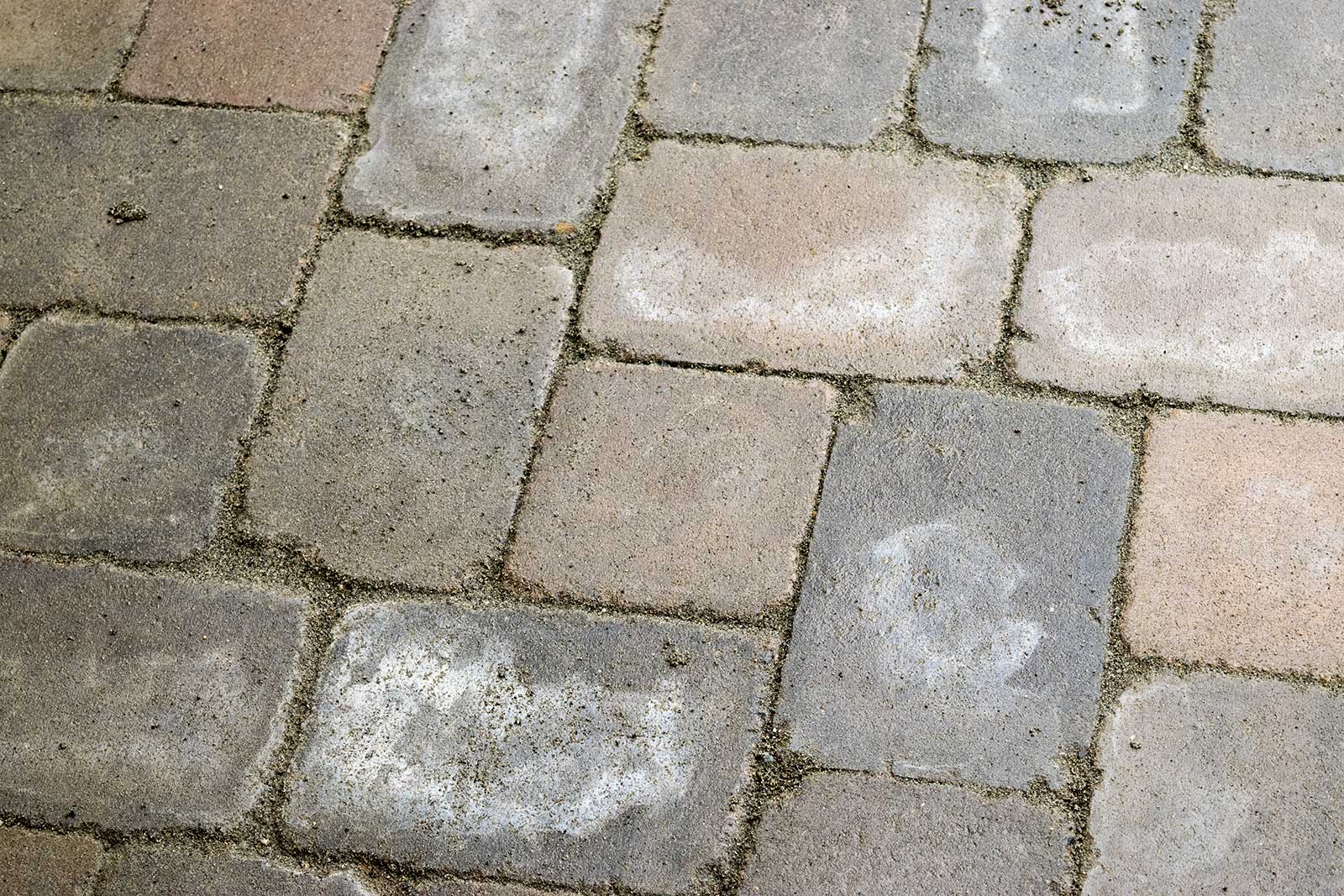 Closeup View Of Roca Style Tumbled Pavers Closeup View Of Roca Style Tumbled  Pavers ...
