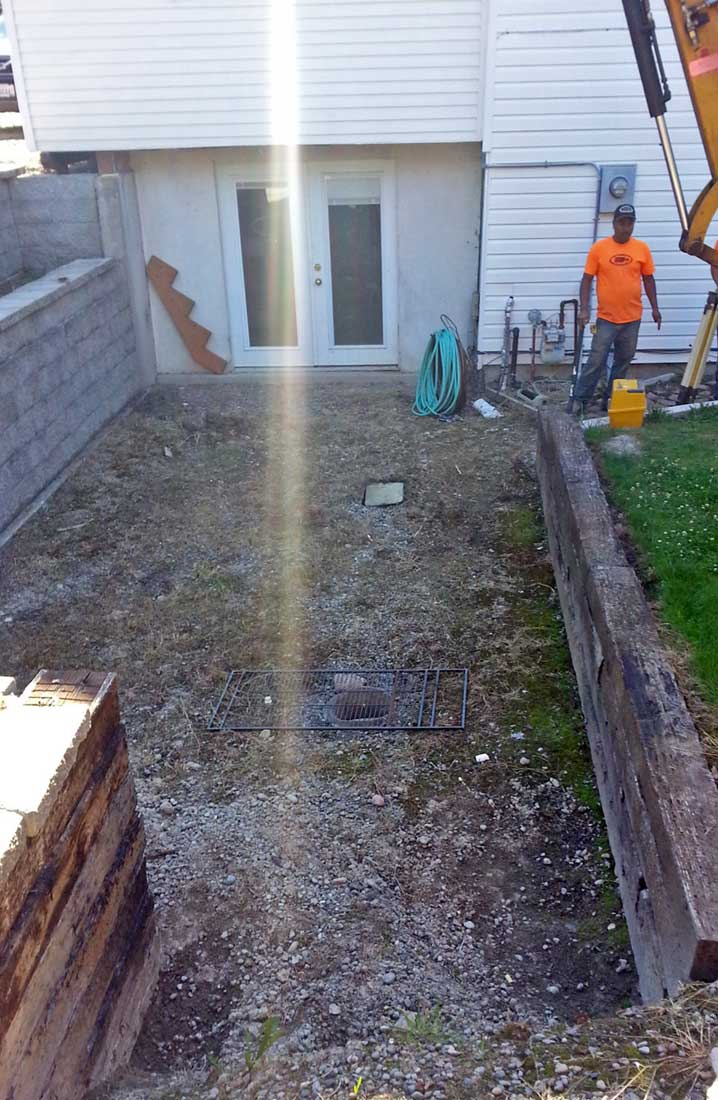 thurston county paver and drainage system installation ajb