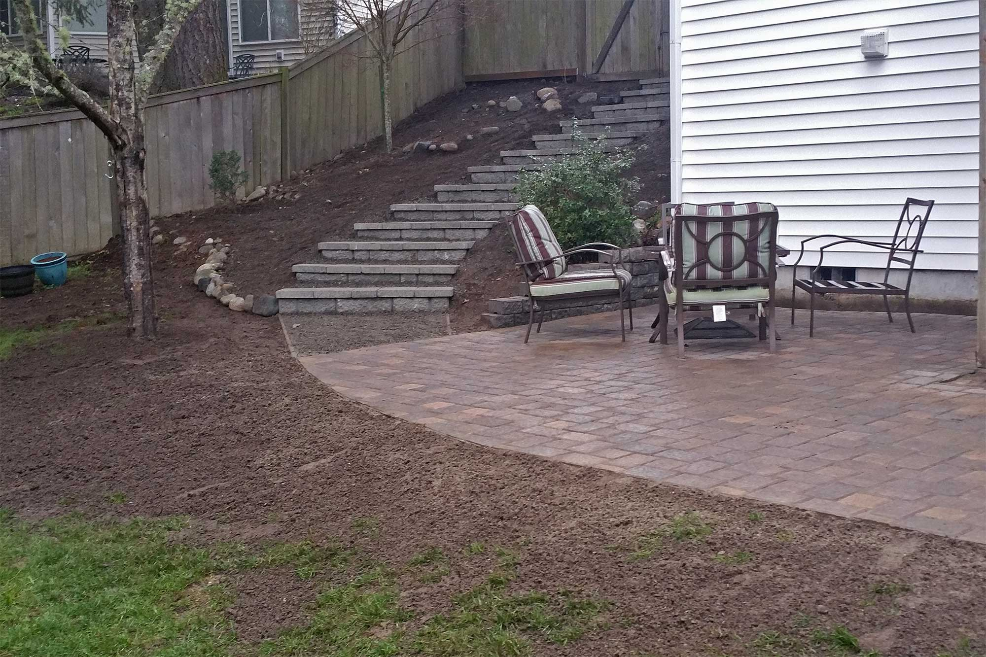 Dupont Paver Patio AJB Landscaping & Fence