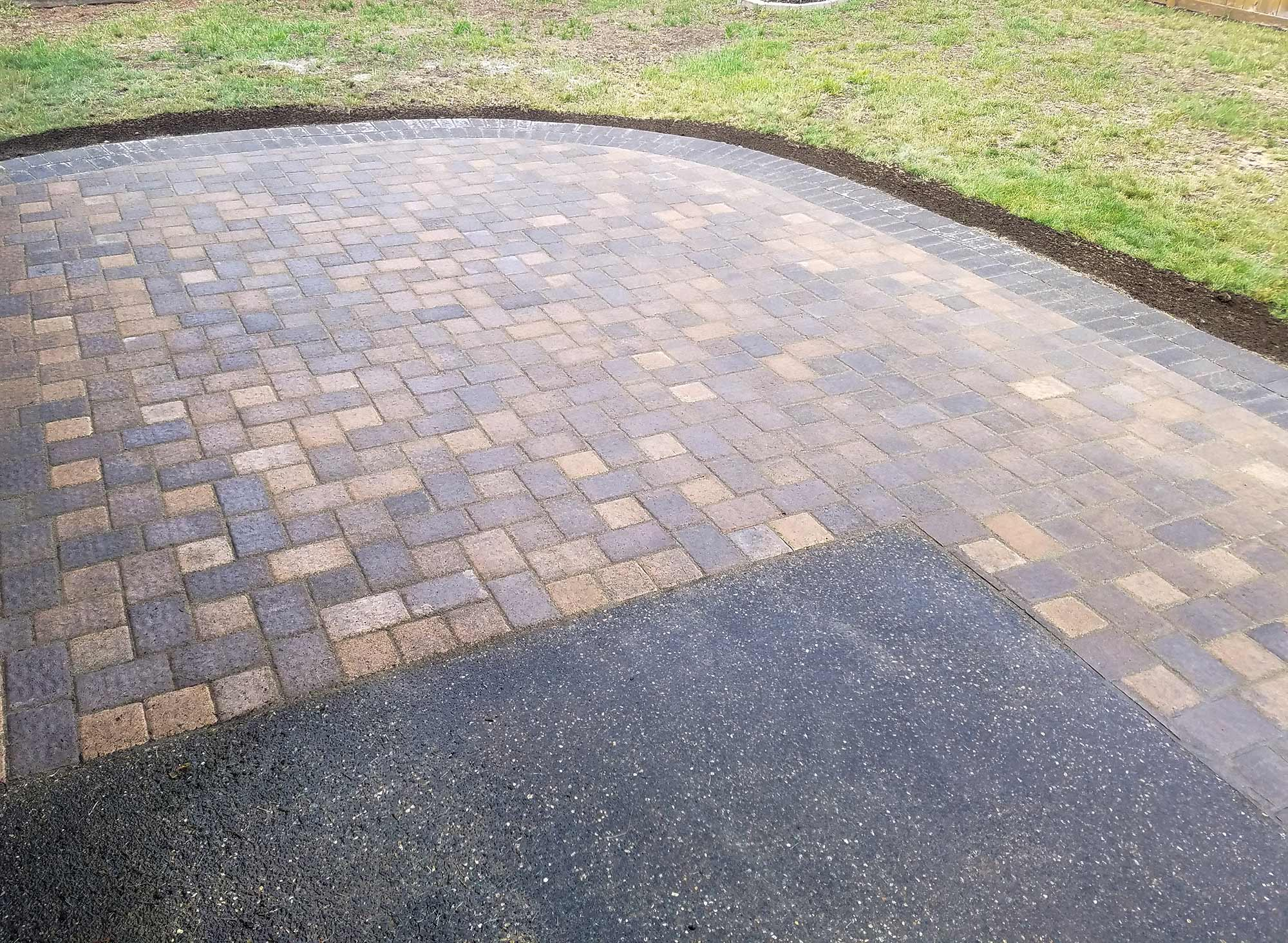 lacey paver patio extension ajb landscaping u0026 fence
