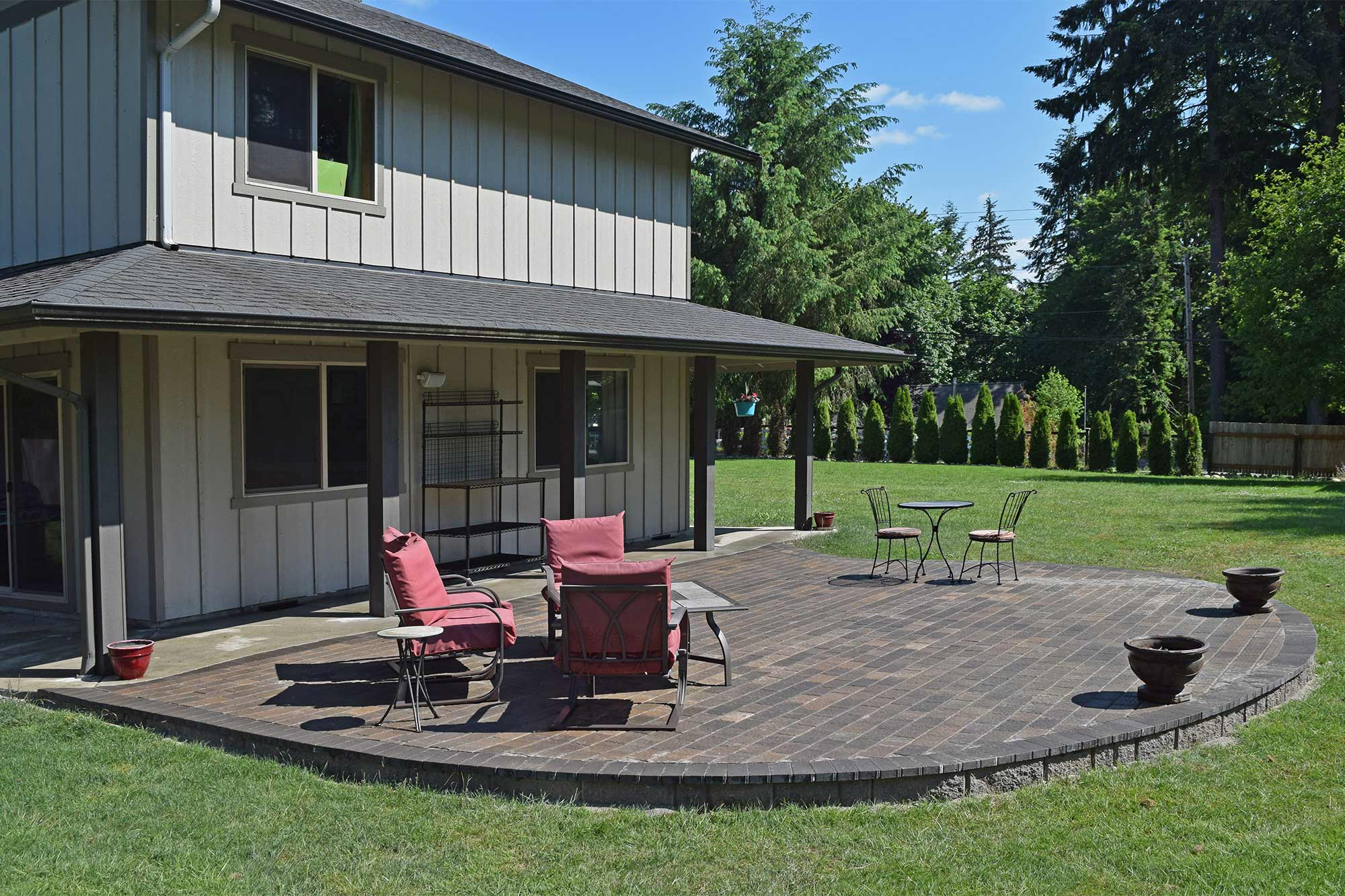 patio design ideas east olympia raised patio ajb landscaping amp fence 29810