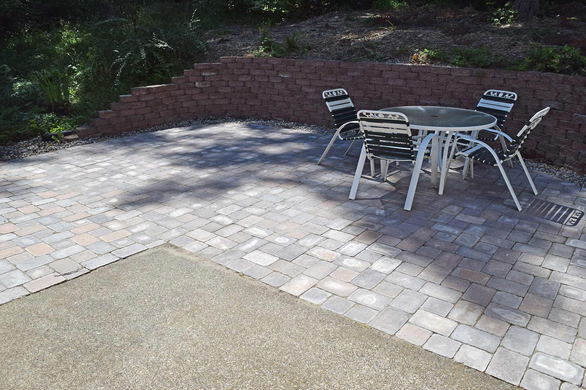 Merveilleux The Paver Patio Extension Provdes A Safe Haven For Jane To Enjoy The  Outdoors And For