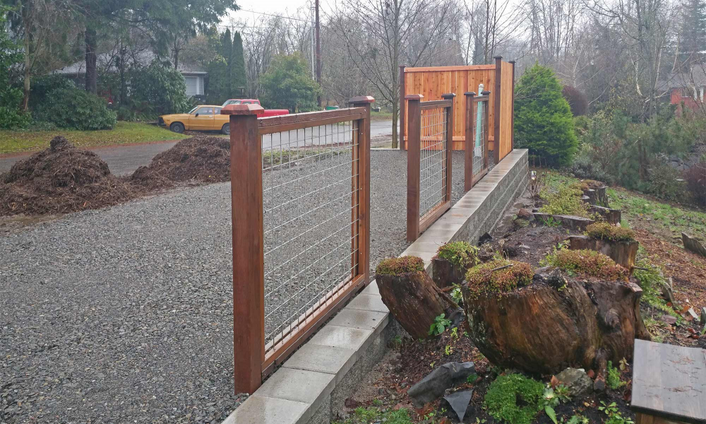 Raised RV Parking - Structural Retaining Wall
