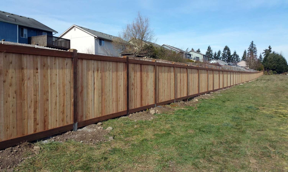 Commerical and Large Fence Projects