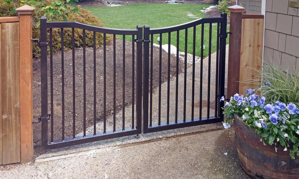 Iron Entry Gates