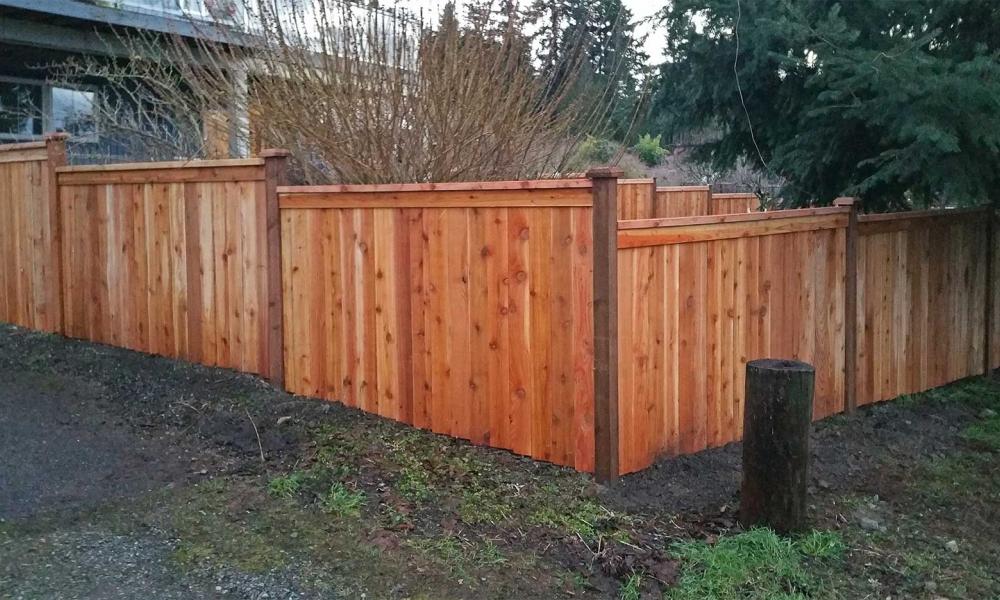 Step-Down Fences