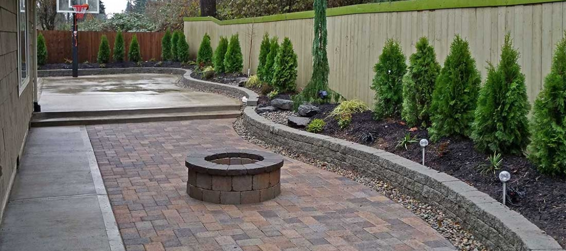 Paver patio installation in Olympia and Tacoma