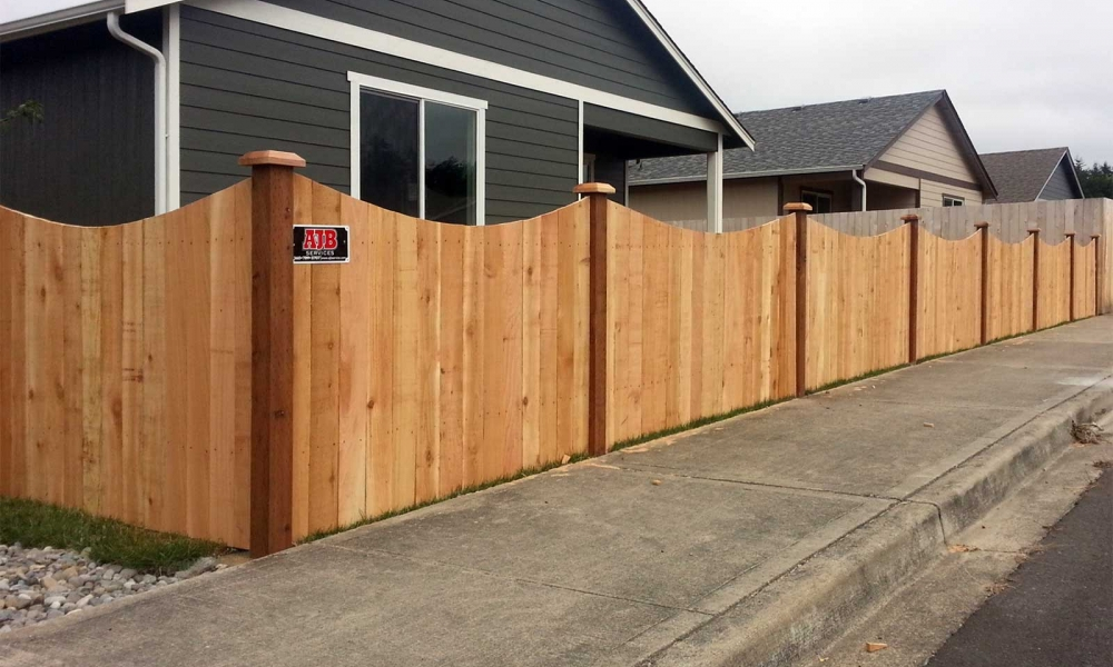 Scalloped Fences
