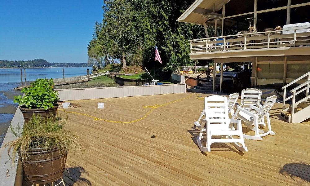 Deck Remodel with Cedar