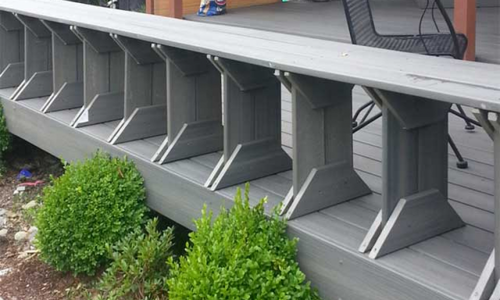 Deck Resurfacing with Trex Composite