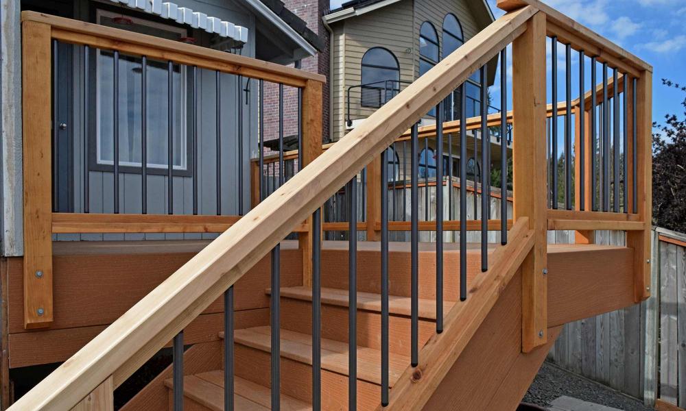 Dual Composite Decks & Railings